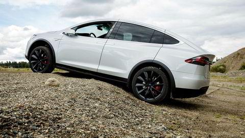 Her fra DNs biltest av Tesla Model X.