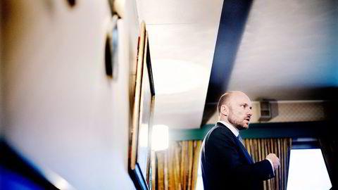 Øyvind Schanke er sjef for indeksforvaltningen i Oljefondet. Foto: Fartein Rudjord