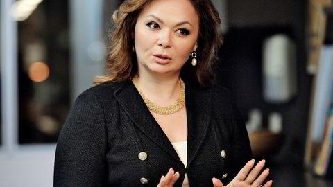 Natalia Veselnitskaja er den russiske advokaten som nok en gang sår tvil om president Donald Trumps affærer med Russland. Her på et bilde fra november i fjor.