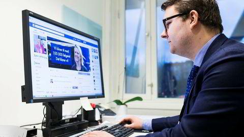 Innvandrings- og integreringsminister Sylvi Listhaug bruker Facebook for å nå ut med politiske og personlige budskap sammen med sin politiske rådgiver Espen Teigen.