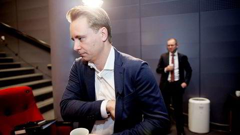 Børsnoterte Akastor ledes av Kristian Røkke. Selskapets aksjekurs var ned nær syv prosent onsdag ettermiddag. Foto: Ida von Hanno Bast