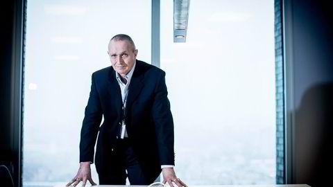 Tidligere sjef for E-tjenesten Kjell Grandhagen har hengt bort uniformen og skal nå sørge for at DNB ikke roter seg bort i altfor risikable engasjementer.                   Foto: Gunnar Blöndal