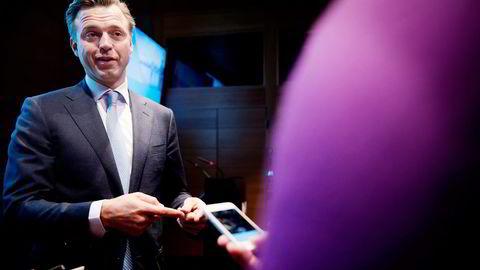 Eiendomssjef Karsten Kallevig i Oljefondet mener det er flere fordeler enn ulemper ved at logistikkgiganten Prologis utgjør nær 25 prosent av fondets portefølje. Foto: Per Ståle Bugjerde
