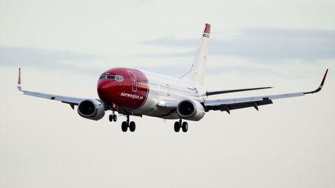 Fredag og lørdag ble en rekke Norwegian-flyvninger til flere populære feriedestinasjoner kansellert. Foto: Erlend Aas /