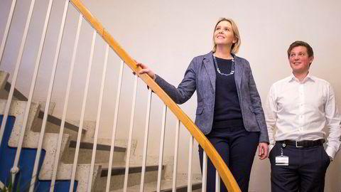 Frps nestleder Sylvi Listhaug (40) har hentet inn Andreas Jacobsen (24) som sin nye rådgiver.