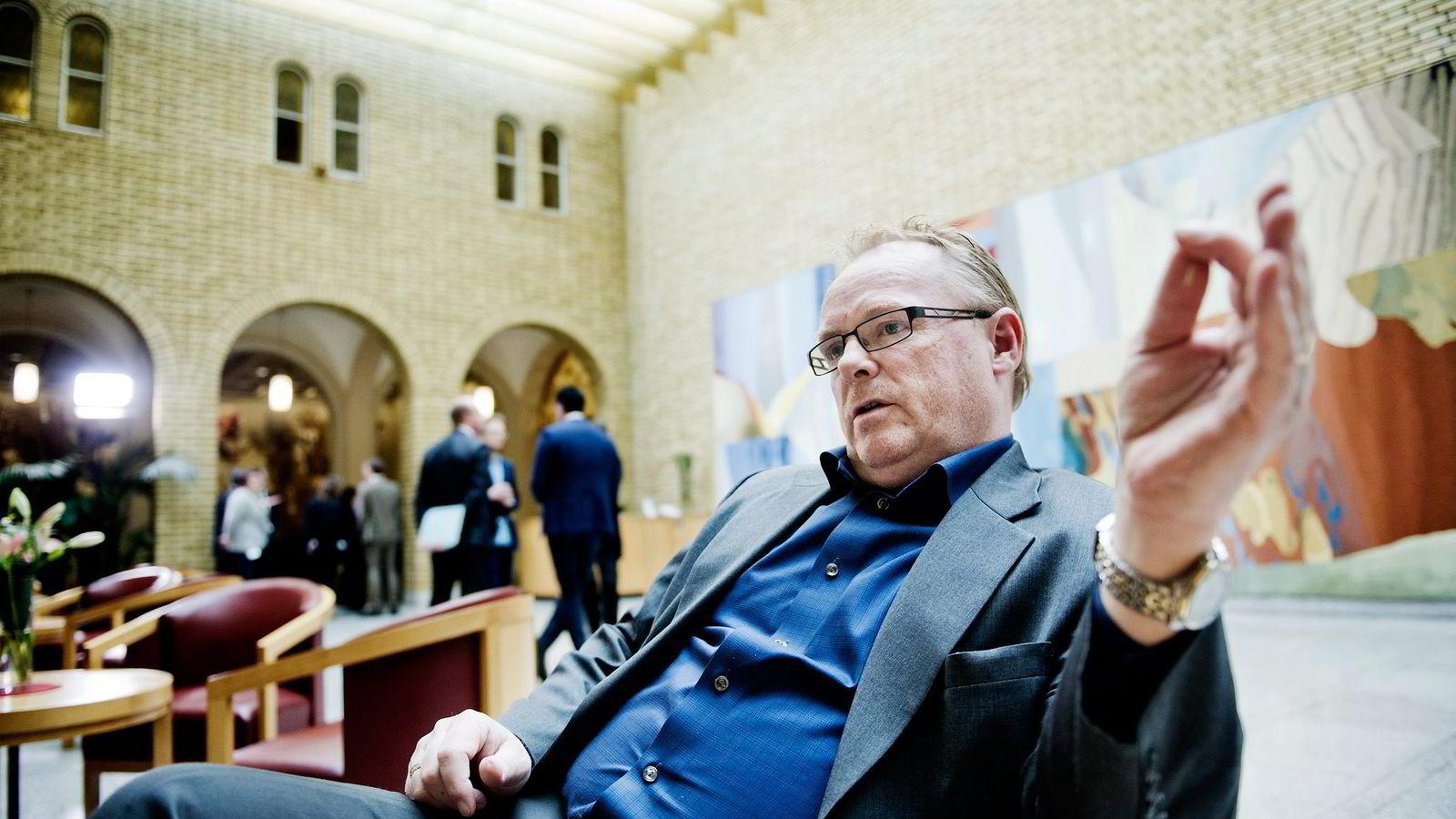 Nestleder Per Sandberg i Frp mener vårens landsstyremøte blir viktig for å skape entusiasme og optimisme rundt partiet.