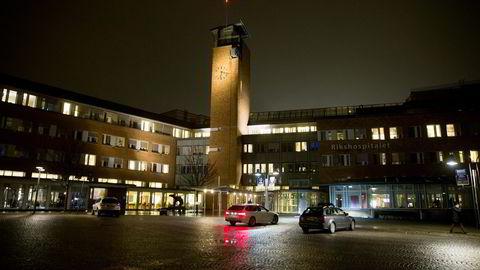 Hovedutfordringen for ledere på sykehus er av strukturell art, skriver artikkelforfatteren. Her fra hans arbeidsplass, Rikshospitalet i Oslo.                      Foto: Terje Pedersen/
