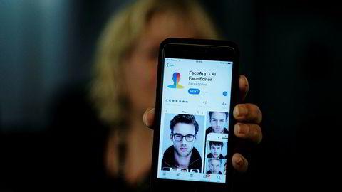 Så utålmodige og ivrige var vi etter å teste «The Face App of Dorian Gray» at vi glemte å spørre hvem som sto bak og hva de egentlig skulle bruke ansiktene våre til.