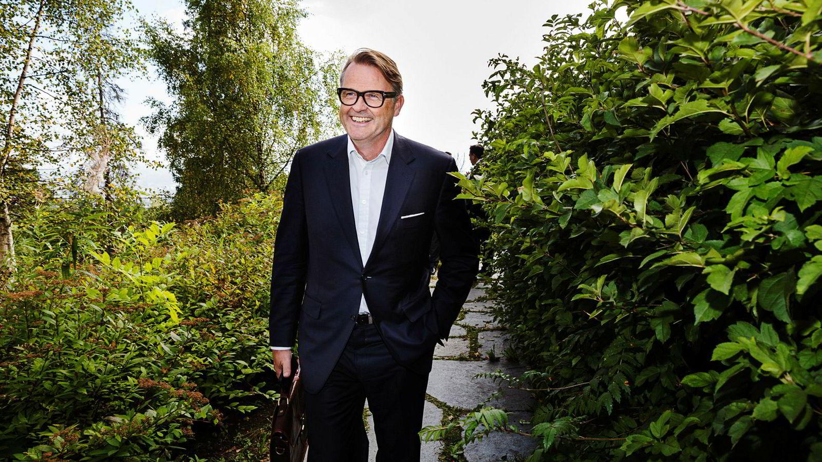 Styreleder Riulf Rustad i Noreco har så langt hatt klaff med oljeprissikringen sin, som ble inngått etter at oljeselskapet kjøpte Shell-andeler til drøyt 15 milliarder kroner på dansk sokkel 17. oktober.