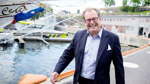 Administrerende direktør Knut Brundtland i ABG Sundal Collier.