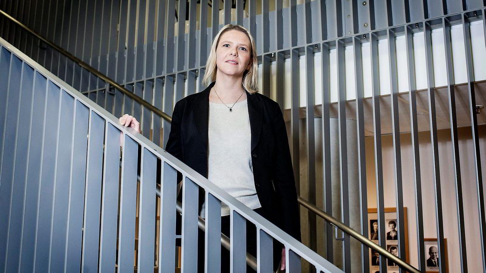 Erna Solberg skal i lang tid hatt ønsker om en egen statsråd for integrering, og skal lenge ha ment at Sylvi Listhaug (bildet) er en av Frps sterkeste statsråder i regjeringen.