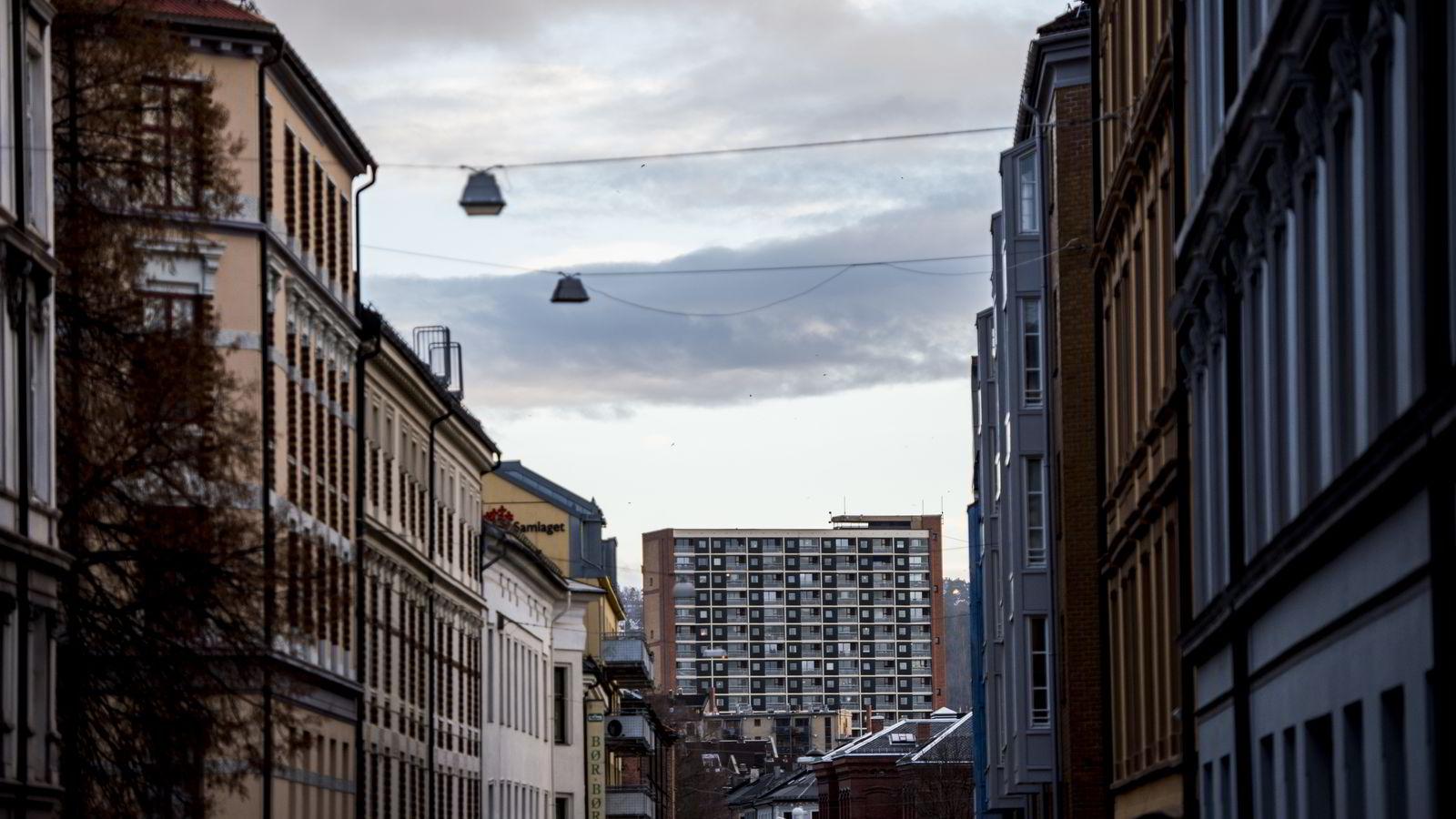 KAN GI PRIS-PRESS. Det kommer et rush av boliger på markedet i januar, men også mange nye kjøpere. Illustrasjonsbilde fra Oslo. FOTO: Fartein Rudjord