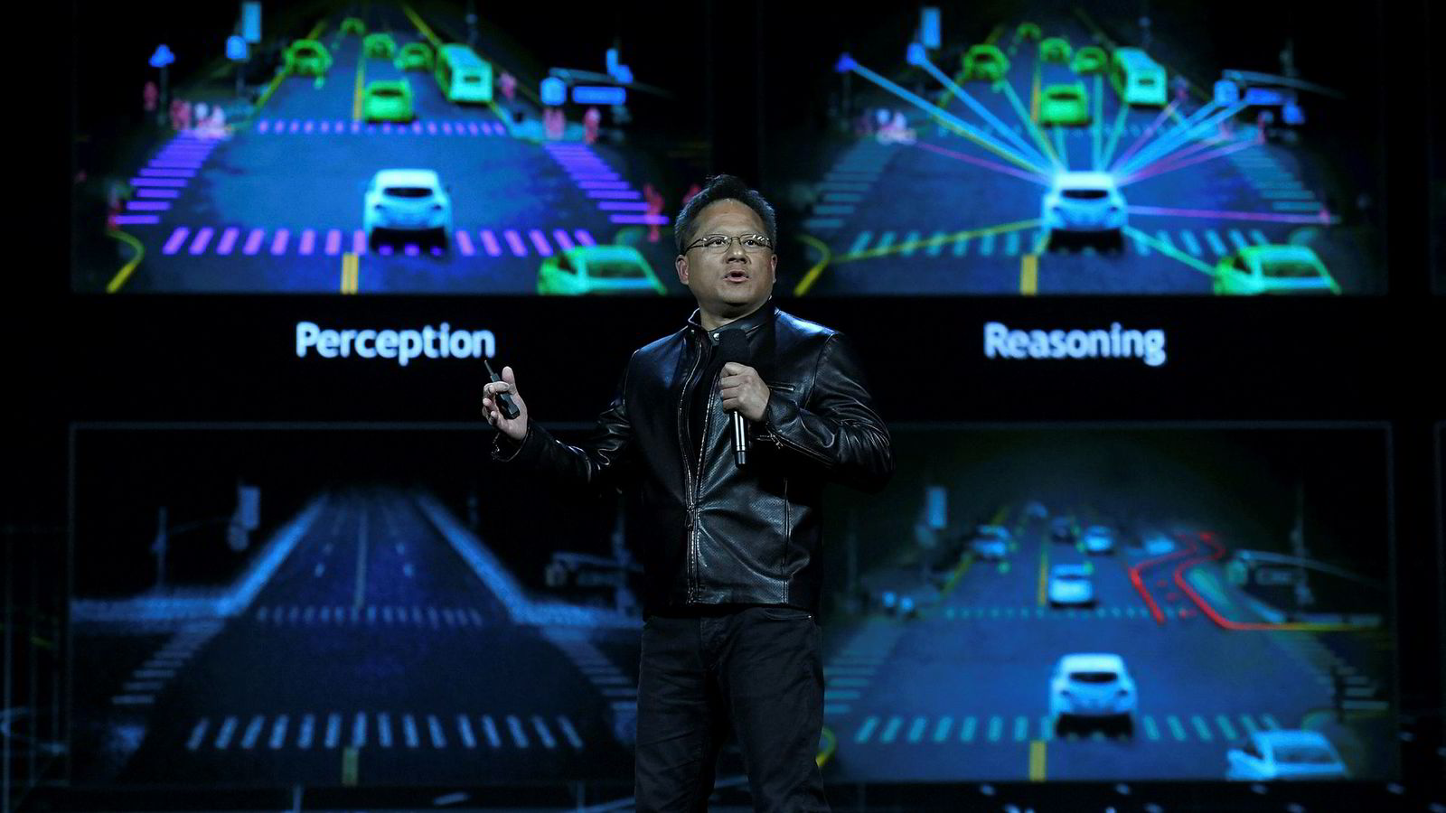 Nvidias grunnlegger og toppsjef, Jen-Hsun Huang, er skuffet over salgene i fjerde kvartal.