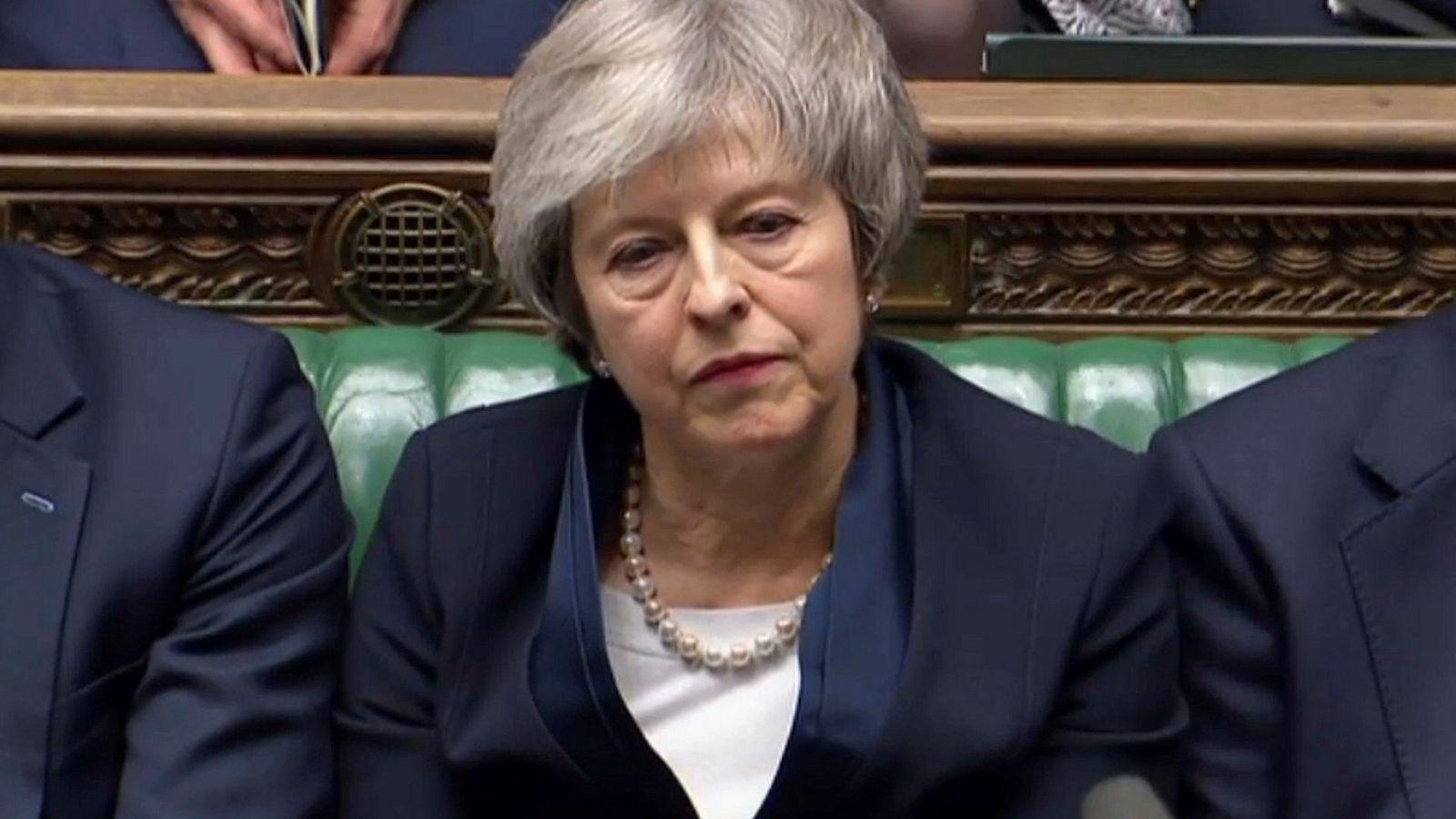 Avstemningen tirsdag gikk verre enn selv de mest pessimistiske av Theresa Mays venner hadde fryktet.