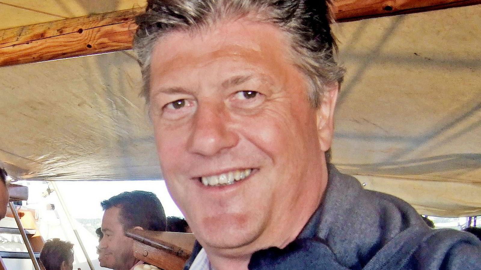 Finanstilsynet mener at Forum Securities-sjef Herman Michelet drev med ulovlig egenhandel og krever at meglerhuset skifter ut ledelsen. Bildet er tatt i 2014.