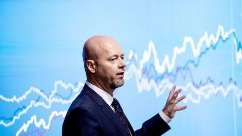 Yngve Slyngstad er sjef for Oljefondet – eller Statens pensjonsfond utland som det formelt heter. Nå skal bemanningen kuttes de neste årene.