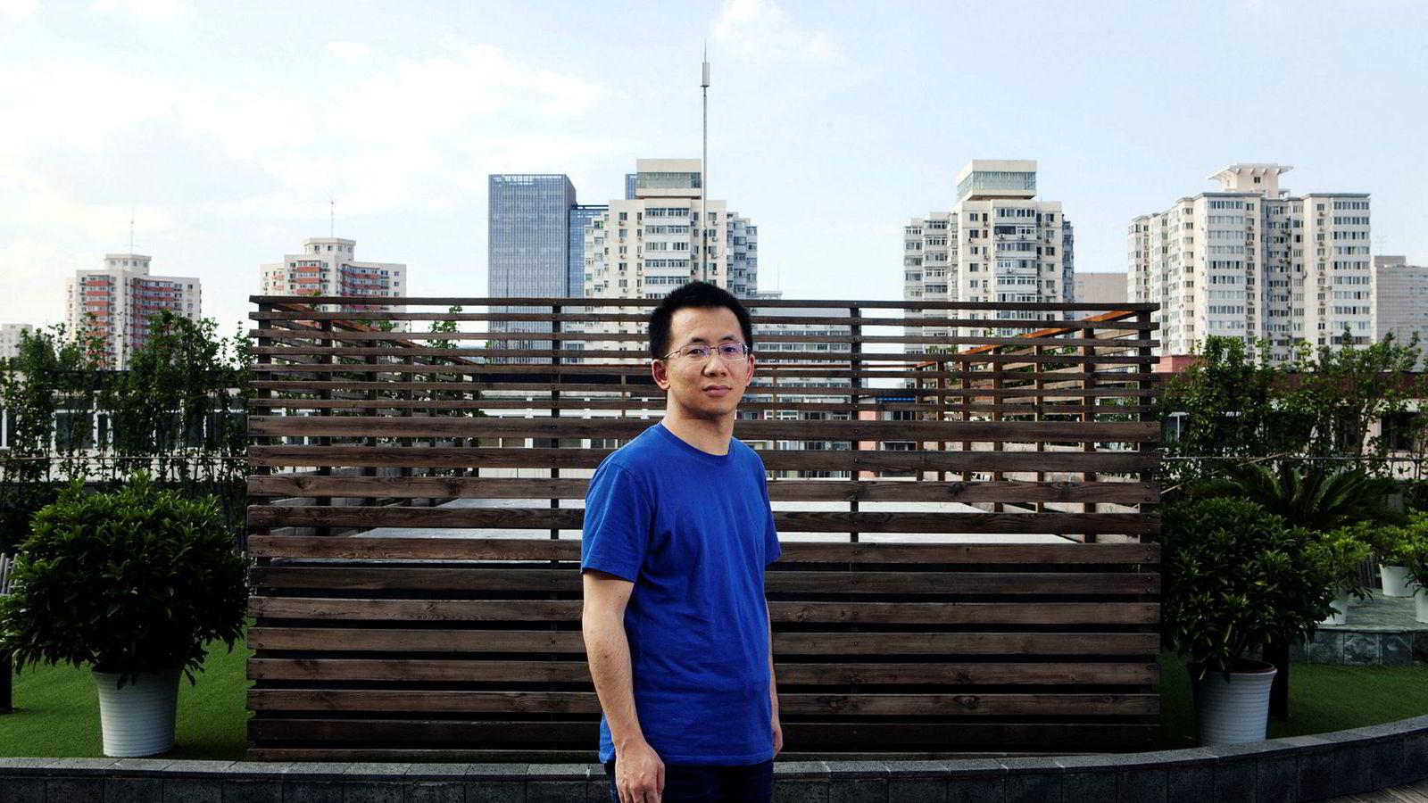 Zhang Yiming står bak det kinesiske teknologiselskapet Bytedance, som har klart å bli et av verdens største internettselskaper. Nå gjør Softbank-grunnlegger Masayoshi Son seg klar til å investere i selskapet.