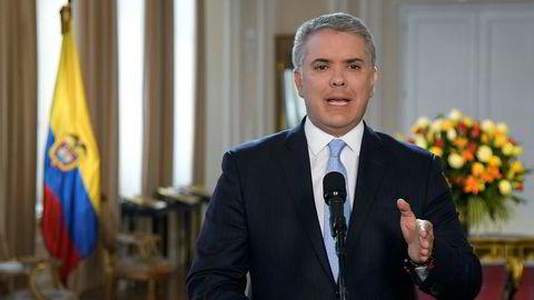 Colombias president Ivan Duque vil sette inn hæren mot Ivan Marquez
