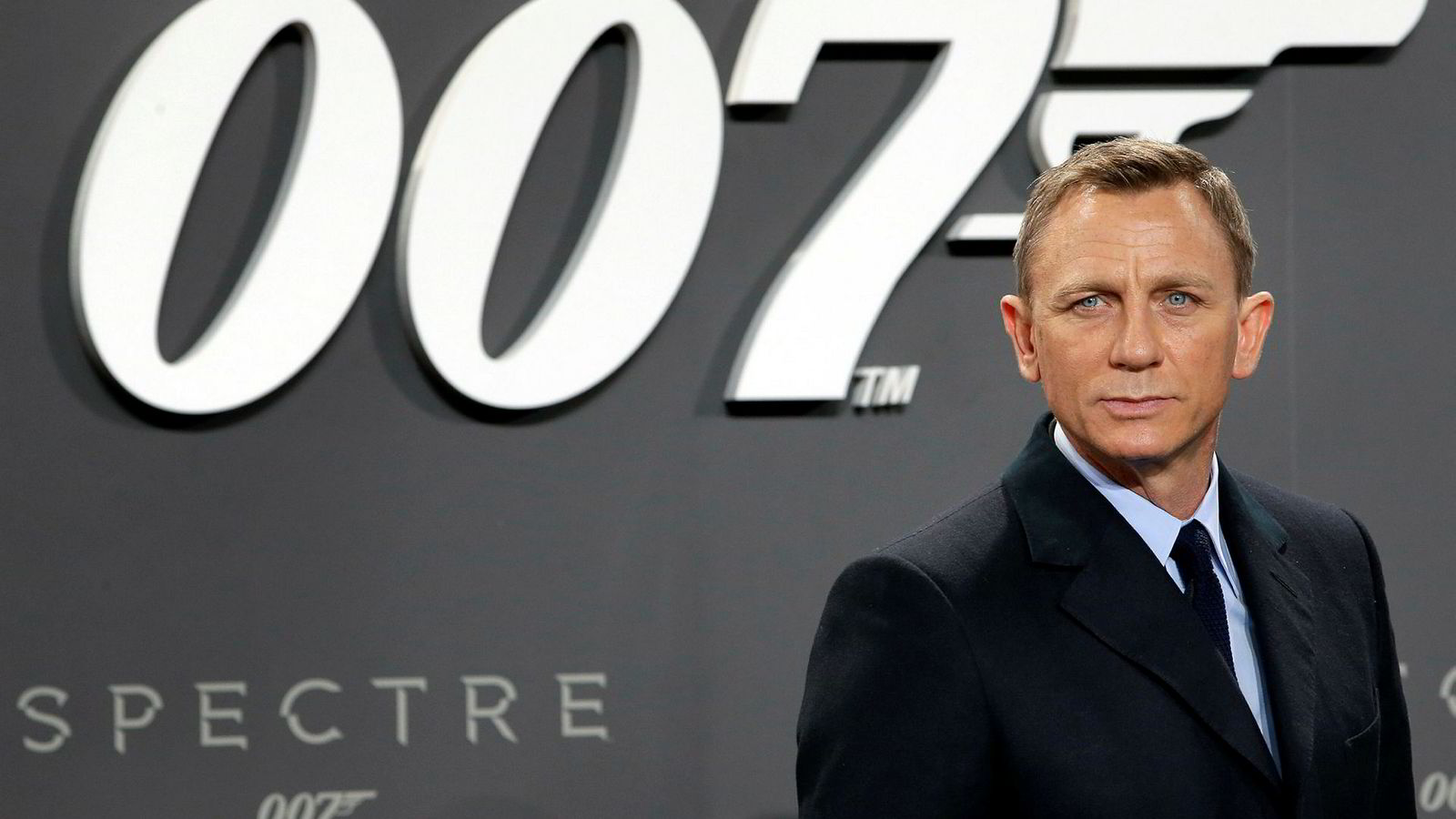 Skuespiller Daniel Craig på James Bond-premiere i oktober 2015, for James Bond-filmen Spectre.