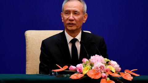 Kinas visestatsminister Liu He drar til USA denne uken for å prøve å få en slutt på handelskonflikten mellom USA og Kina.
