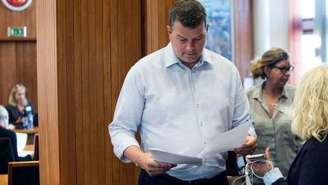LO-leder Hans-Christian Gabrielsen kjemper for å utvide obligatorisk tjenestepensjon til å gjelde fra første krone.