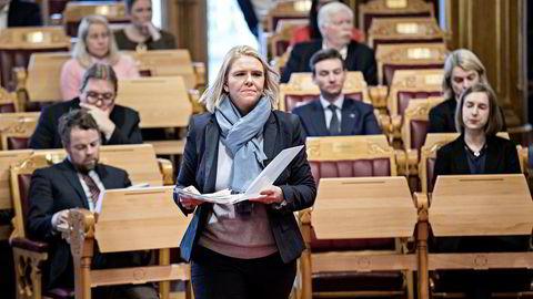 Justis-, beredskaps- og innvandringsminister Sylvi Listhaug. Foto: Aleksander Nordahl
