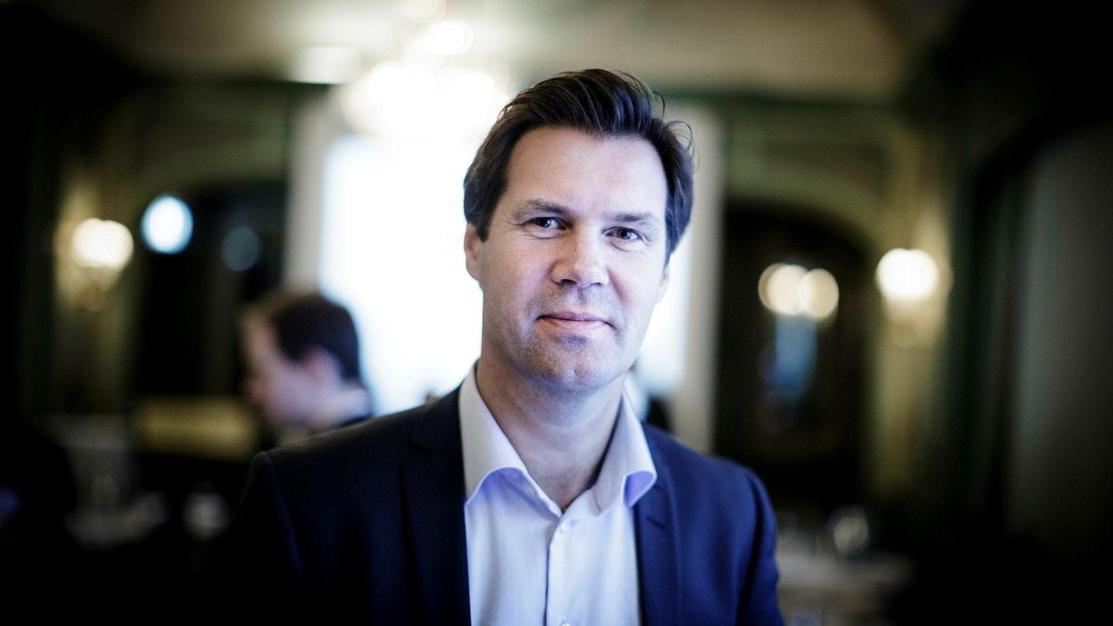 Konsernsjef Henning Beltestad i Lerøy Seafood.