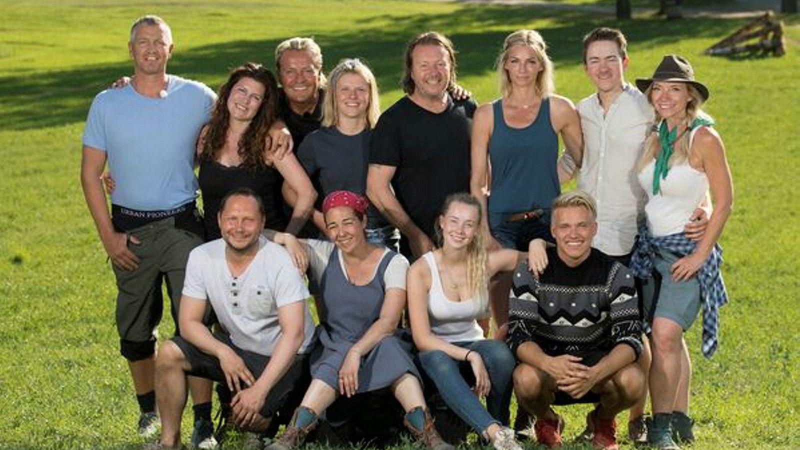 Dette er deltagerne på årets utgave av «Farmen Kjendis».