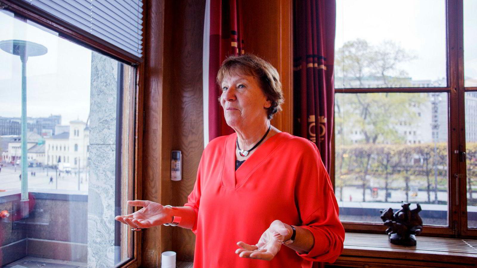 Oslos ordfører Marianne Borgen (SV) ber regjeringen om å hjelpe til med å minske forskjellene i hovedstaden.
