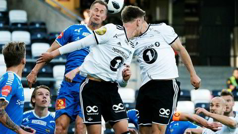 Brukere i Kina får tilgang på sendinger fra den norske Eliteserien. Her fra et møte mellom Rosenborg og Tromsø i sommer.