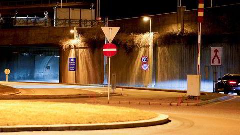 Nytt løp i Strømsåstunnelen på E134 i Drammen er en viktig del av prosjektet kalt Buskerudbypakke 2. Mesteparten var tenkt finansiert med bompenger. Nå går Høyre fra avtalen..
