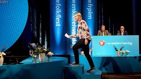 Sylvi Listhaug vil ikke at norske kvinner skal kunne få leie ut«livmoren sin» og oppfordrer Frp-landsmøtet til å si nei til surrogati.