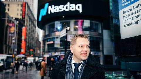 Sjefstrateg Leif-Rune Rein i Nordea Wealth Management mener  handelskrigen fremdeles er et av de største risikomomentene for finansmarkedene.