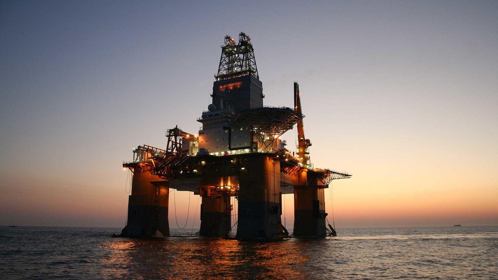 Brønnene skal bores med Deepsea Atlantic.