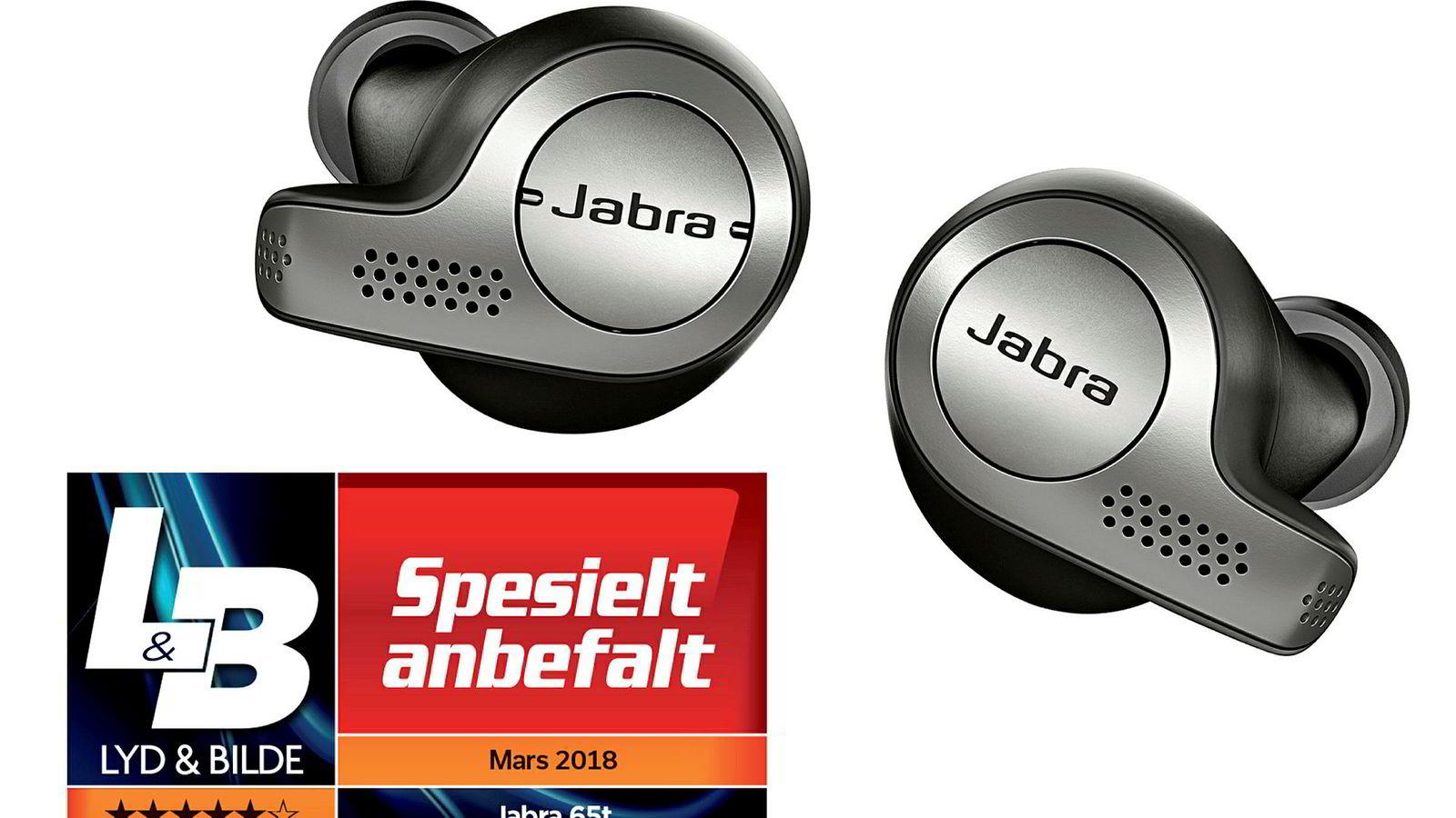 Jabra Elite 65T slår Apple på hjemmebane.