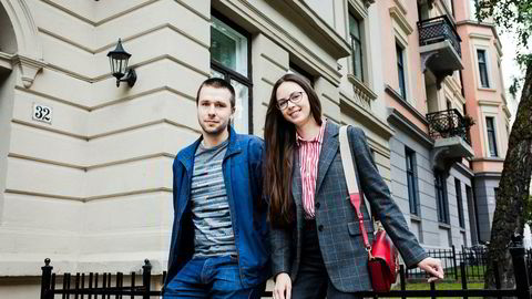 Igor Orlov og Anastasia Orlova kjøpte nylig en leilighet i Oslo for 3,1 millioner kroner. Han har mastergrad i it og jobber i et it-selskap, hun har studert kinesisk og jobber som butikksjef.
