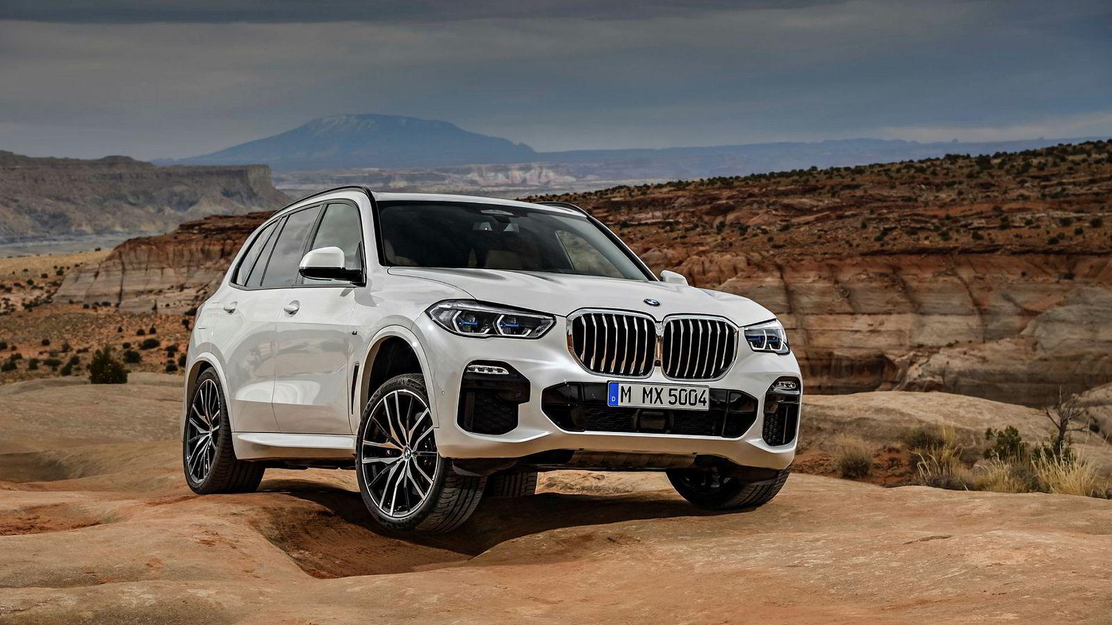 Hele BMW X5 har vokst, ikke bare grillen.