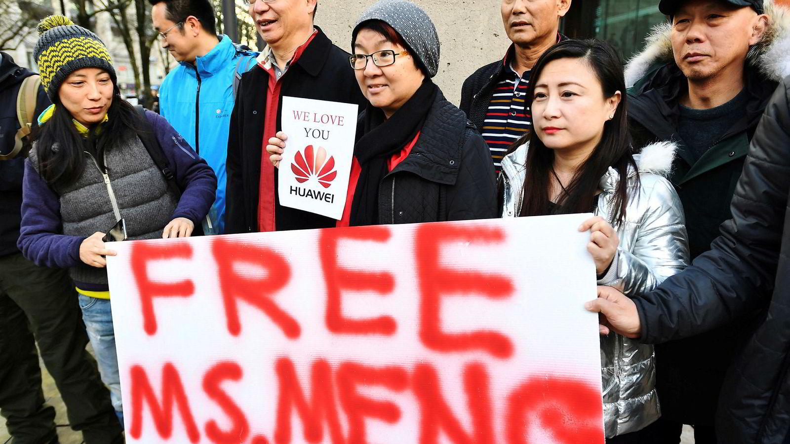 Huaweis finansdirektør Meng Wanzhou risikerer utlevering fra Canada til USA.