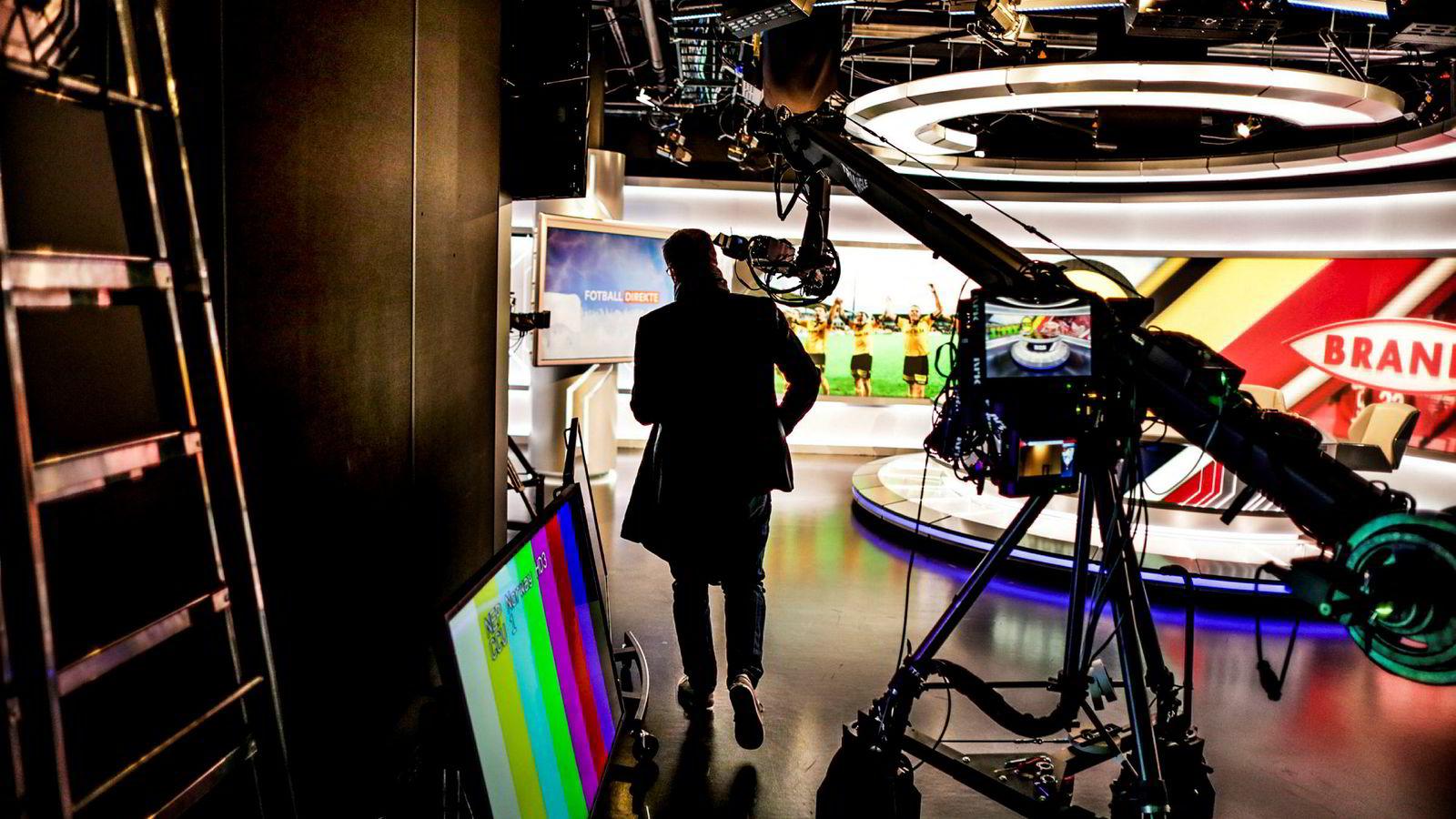 Ullevaal Media Center leverte studiosendinger fra lokalene på Ullevaal stadion.