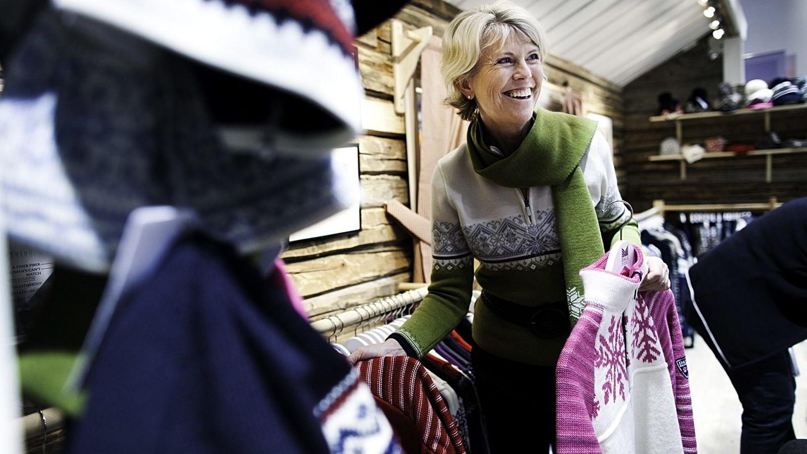 Hilde Midthjell i Dale of Norway er Norges første kvinnelige milliardær med selvskapt formue. Foto: Per Thrana