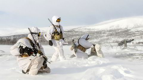 Avskrekking og beroligelse er begreper fra strategiens verktøykasse som har vært ubrukt siden den kalde krigen. Her fra øvelse i Finnmark, «Joint Viking 2017».