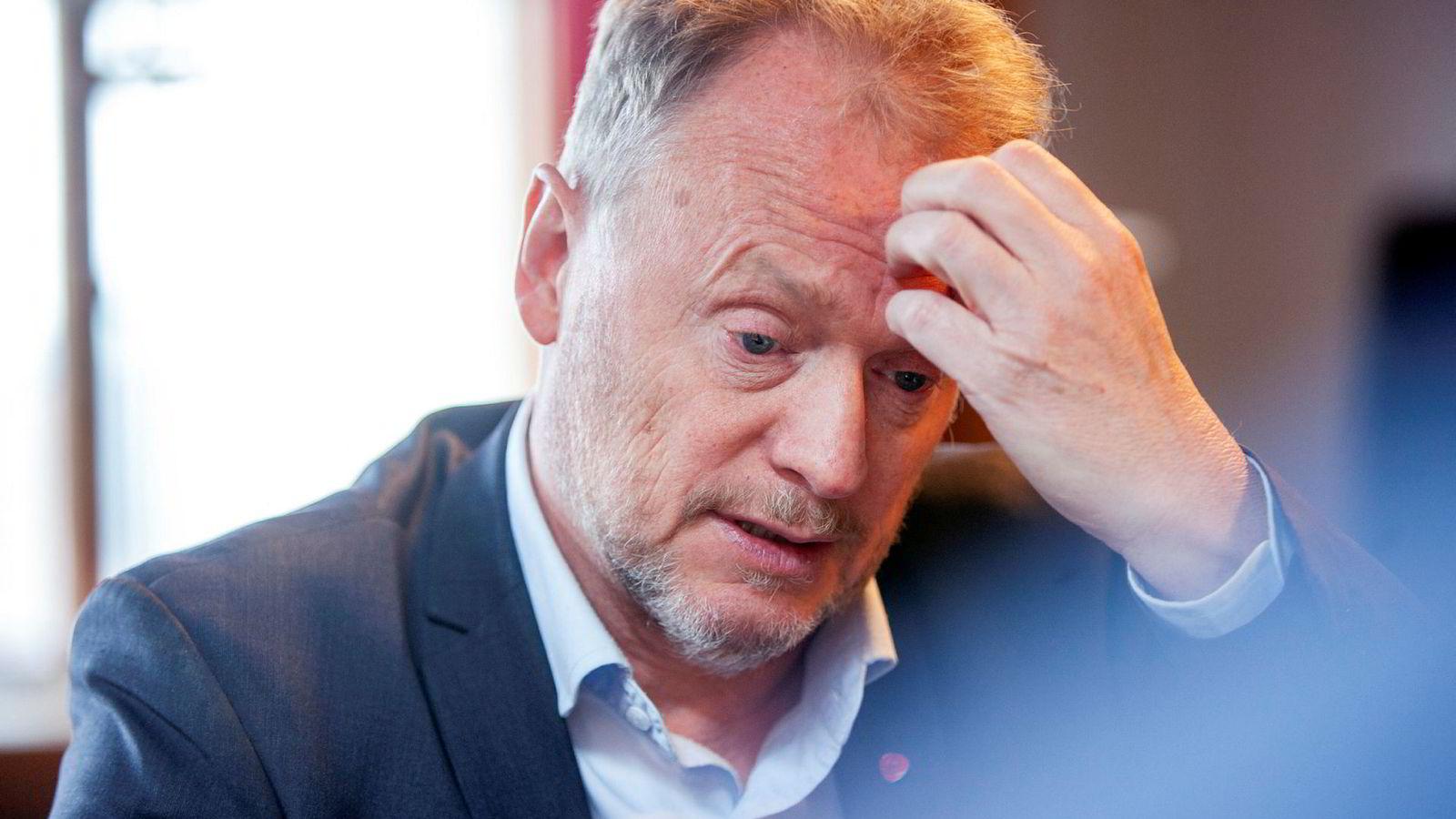 Eiendomsskatten ligger fast, sa byrådsleder i Oslo Raymond Johansen før valget.