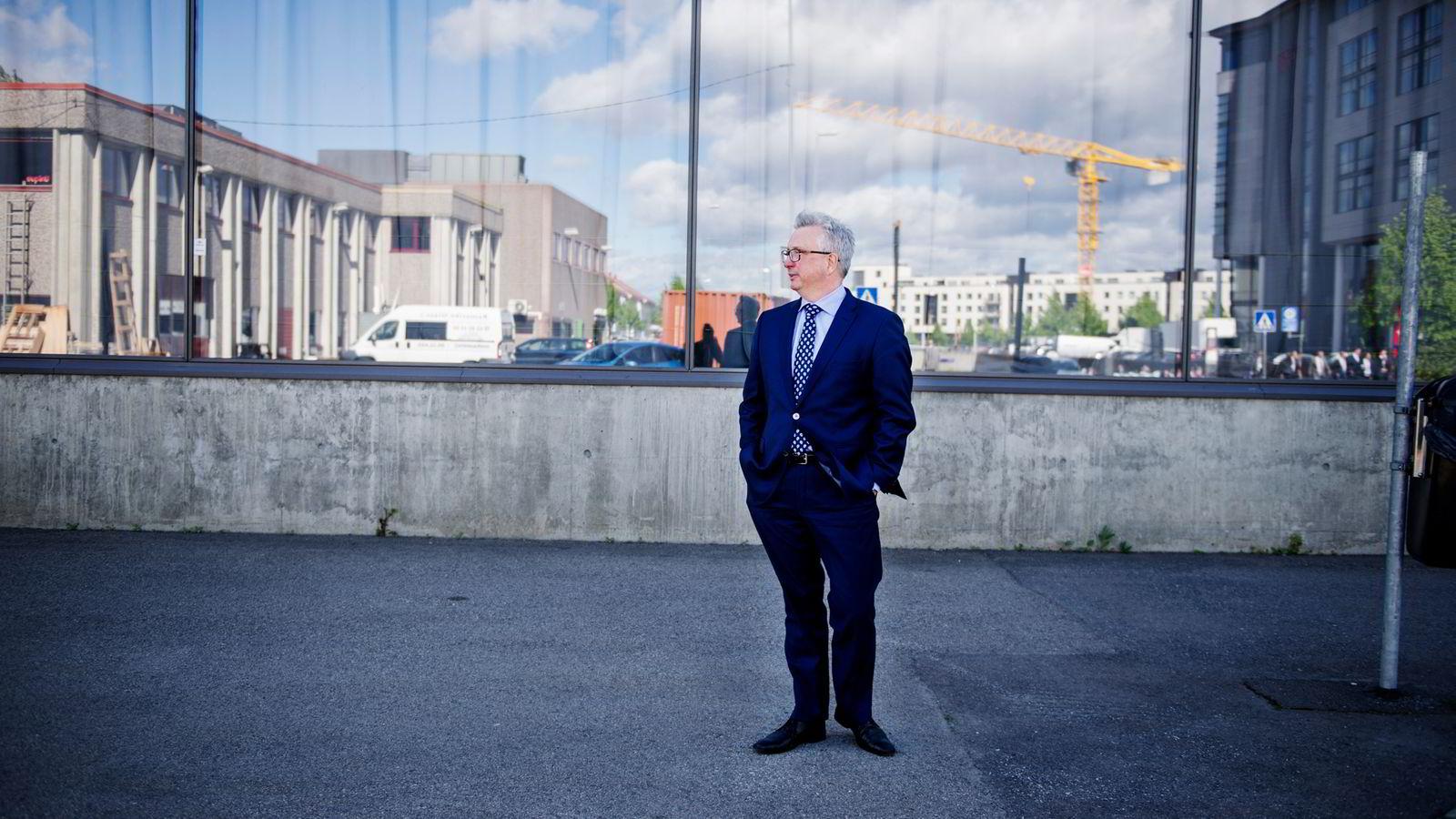 Administrerende direktør Karl Eirik Schjøtt-Pedersen i Norsk olje og gass tror ikke investeringsnivået vil komme tilbake dit det var i toppårene.