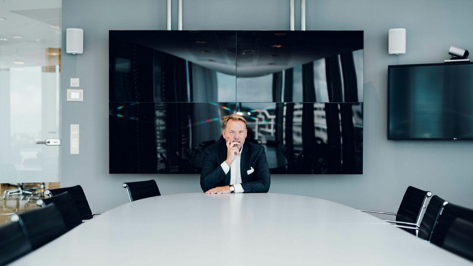 – Som selskap er vi inne i den største investeringsperioden noensinne, sier HitecVision-sjef Ole Ertvaag.