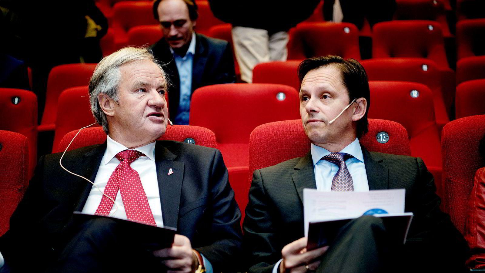 Norwegian-sjef Bjørn Kjos og Norwegians tidligere finansdirektør Frode Foss er begge blant de største aksjonærene i WR Entertainment.