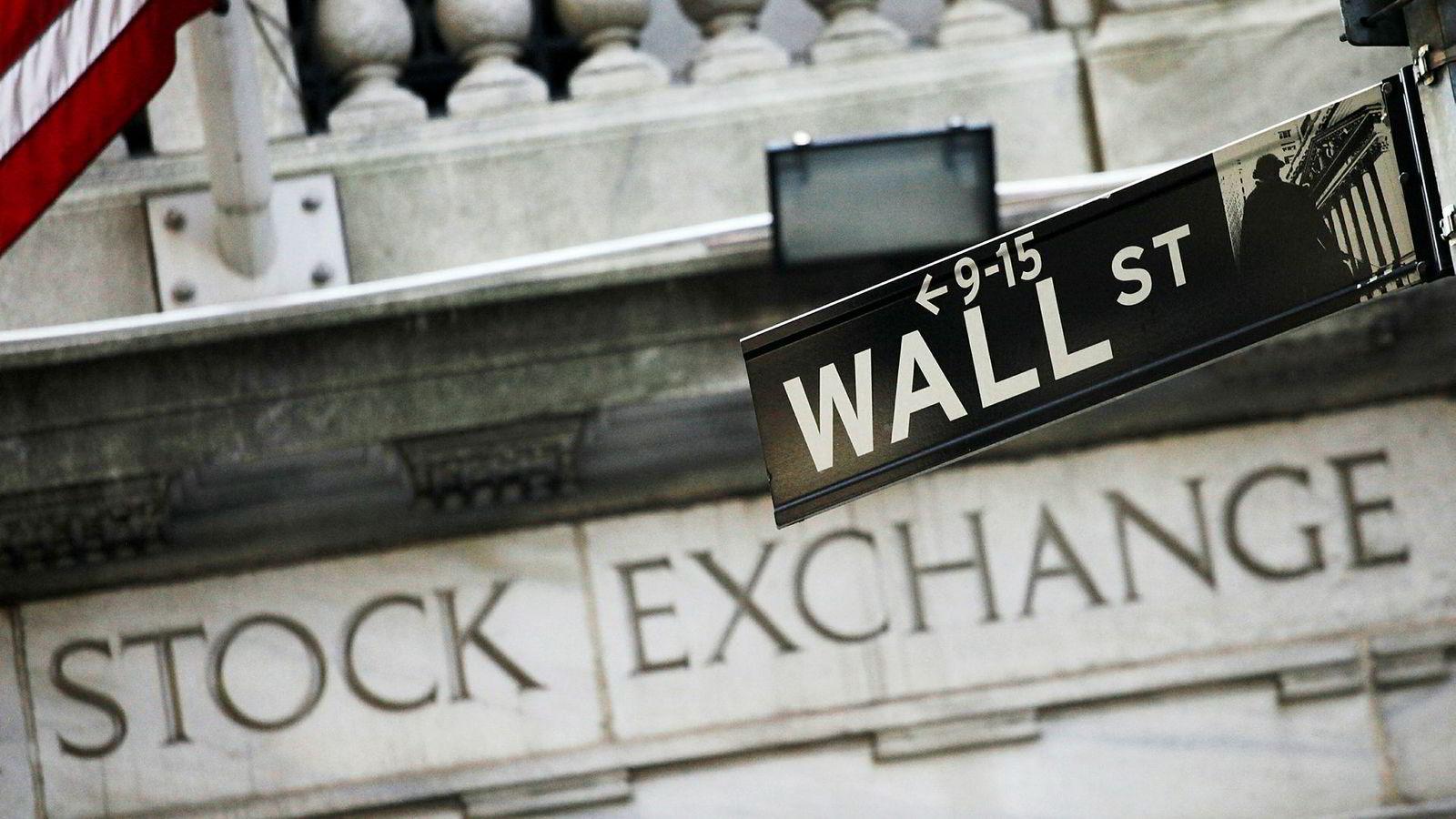 De amerikanske børsene stiger mandag.
