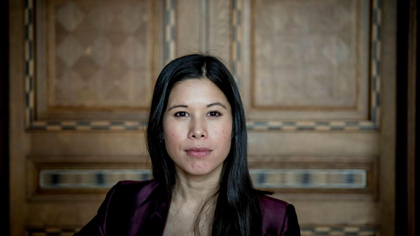 Lan Marie Nguyen Berg, politiker for Miljøpartiet De Grønne og byråd for miljø og samferdsel i Oslo, liker ikke at Høyre har planer om å legge søppeltømmingen i byen ut på anbud igjen.