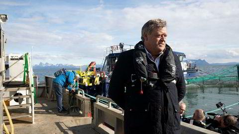 Lettere å bearbeide og selge til britene etter brexit? Fiskeriminister Harald T. Nesvik tror det er mulig.