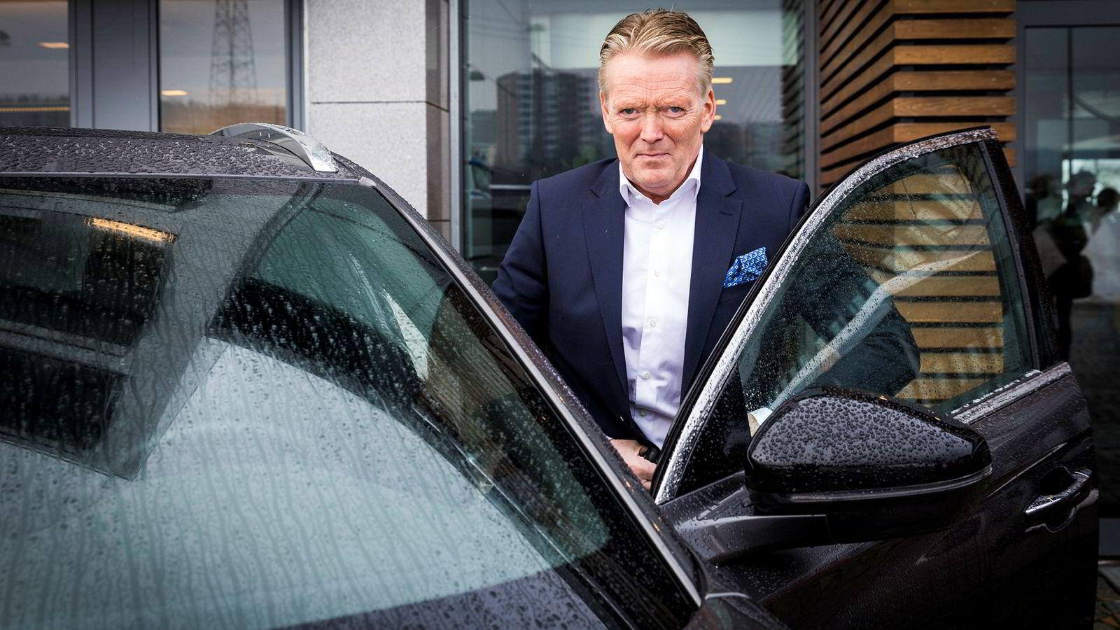 Konsernsjef Bjørn Maarud i Bertel O. Steen skal kutte ned på antall forhandlere.