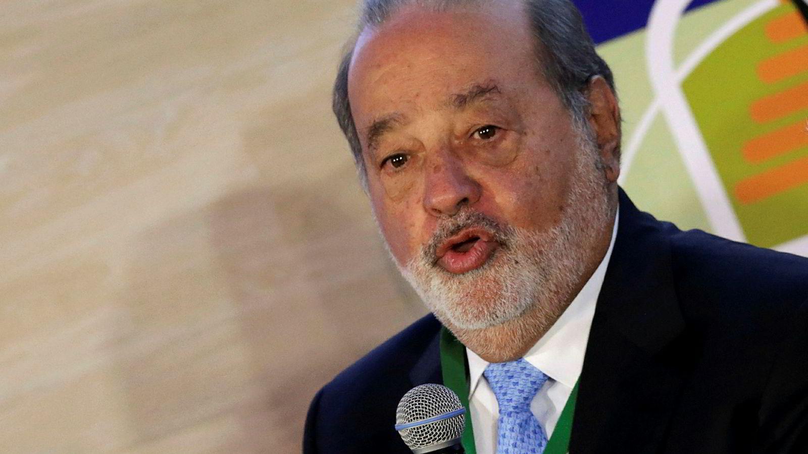 Carlos Slim er en av verdens åtte rikeste. Disse åtte eier nå like mye som den fattigste halvparten av verdens befolkning.